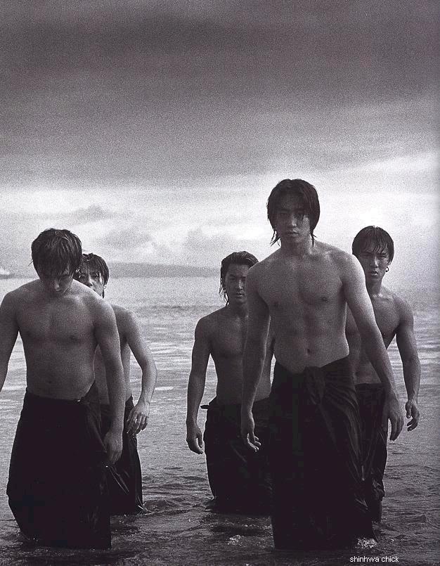 [Pics] Shinhwa Wild Photoshoot scans