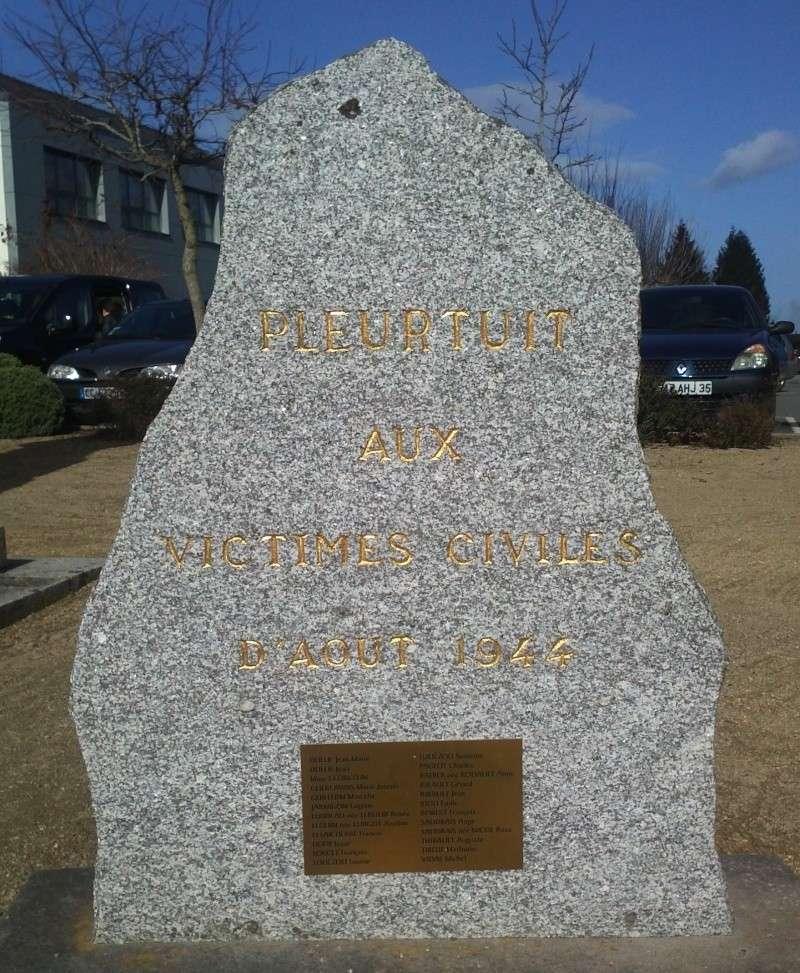 Pleurtuit : hommage aux victimes civils Img09710