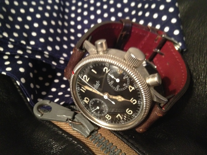 Hanhart Primus Desert Pilot Chronograph Img_2941