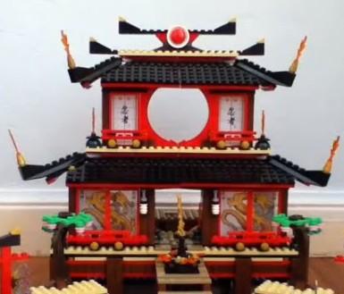 Pagode temple Japonais Kokeshi Chinois Kawaii Lego-n10