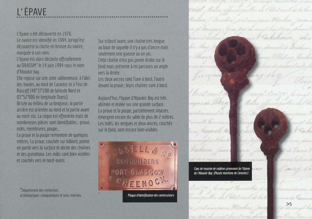 [Les Musées en rapport avec la Marine] Musée Maritime de Carantec - Page 2 Abouki13