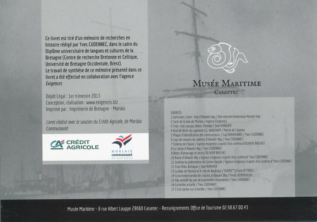 [Les Musées en rapport avec la Marine] Musée Maritime de Carantec - Page 2 Abouki19