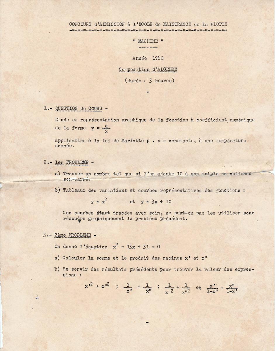 [École de Maistrance] MAISTRANCE MACHINES - Page 36 Alg-3h10