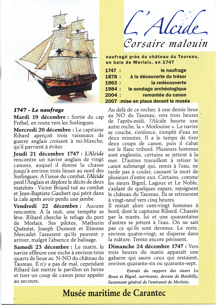 [Les Musées en rapport avec la Marine] Musée Maritime de Carantec L_alci12