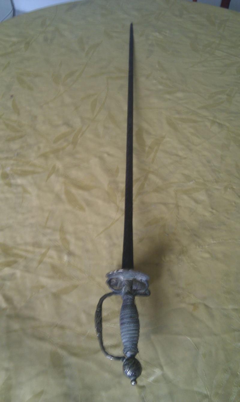 Épée de cour du XVIII°. Imag0212