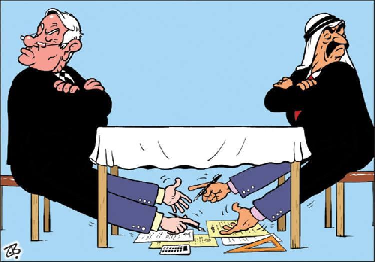كاريكاتير سياسي الصراع العربي الاسرائيلي 13398511