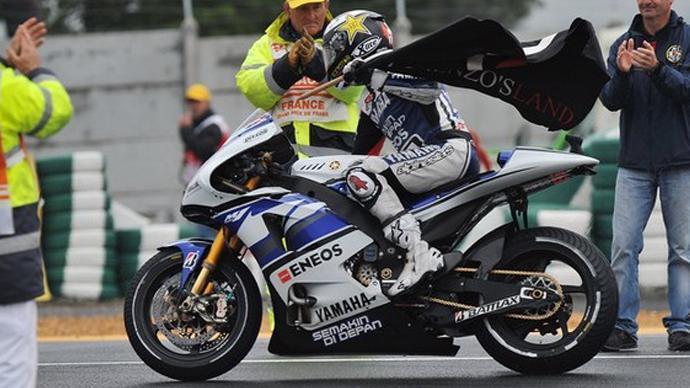 لورينزو يستعيد الصدارة بعد الفوز بسباق فرنسا 20125232