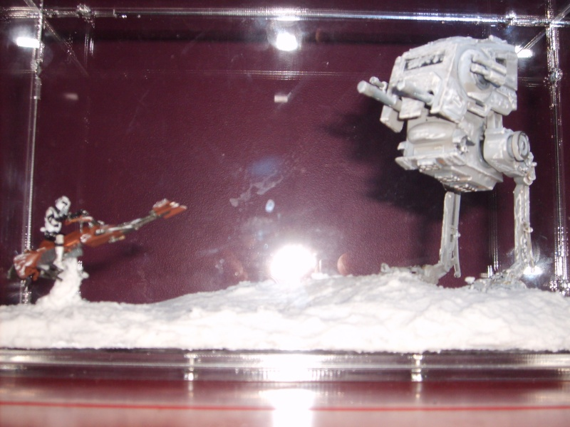 Diorama AT ST's / SCOUT TROOPER ON SPEEDER BIKE S5000015