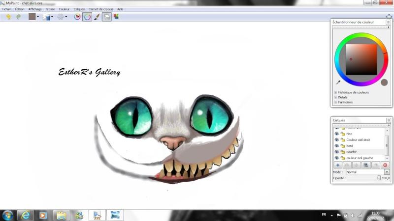 Dessin Du Chat Dans Alice Au Pays Des Merveilles