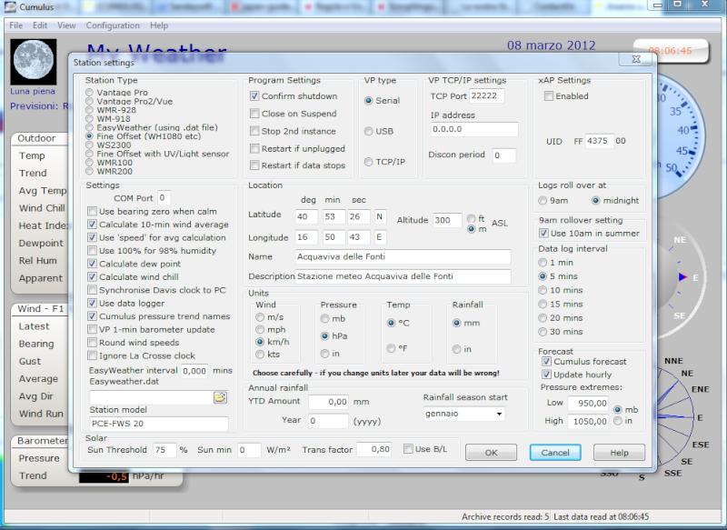 cumulus - FTP error con cumulus Cattur10