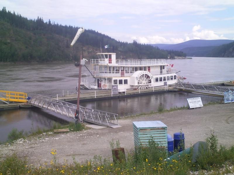[Canada] - Le Keno navigue à Dawson City 56551011