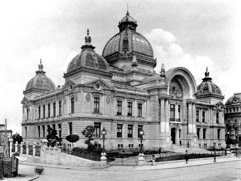 [Roumanie] - Le Palais CEC à Bucarest, siège de la plus ancienne banque de Roumanie  Cladir10