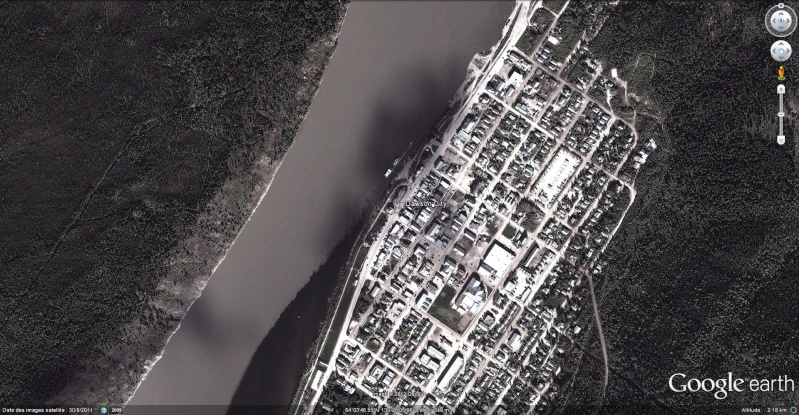 [Canada] - Le Keno navigue à Dawson City Dawson12