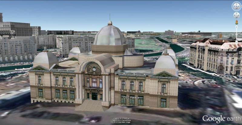 [Roumanie] - Le Palais CEC à Bucarest, siège de la plus ancienne banque de Roumanie  Le_pal11