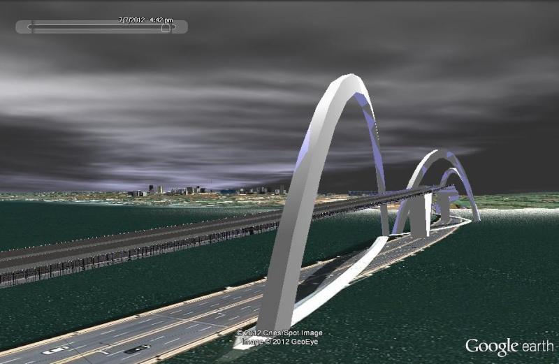 [Brésil] - Pont Juscelino Kubitschek de Brasilia Ponte_10