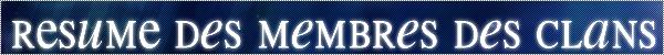 La Guerre des Clans - Forum RPG Rasuma10