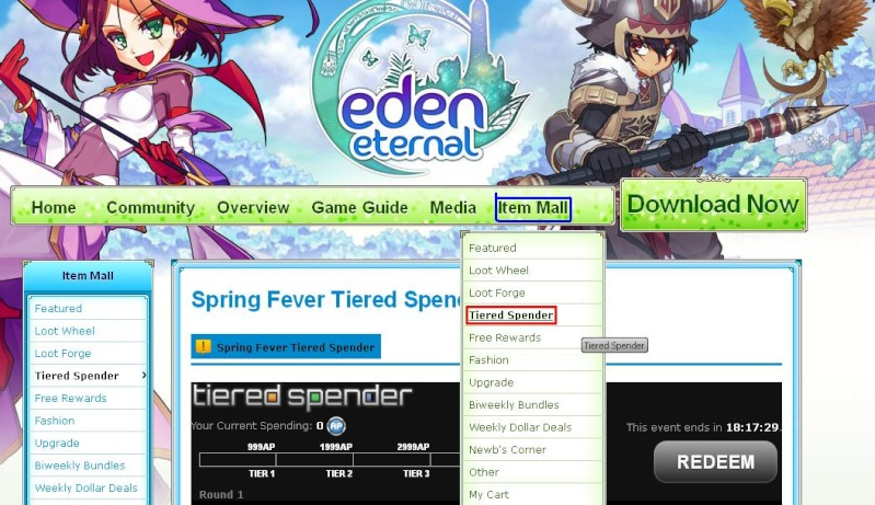 Tiered spender guide Tiered10