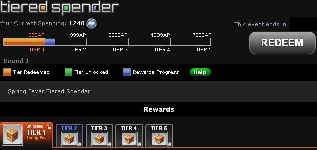 Tiered spender guide Tiered16