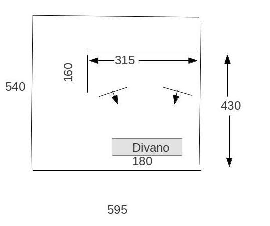 Open baffle dimensioni e forme dei pannelli HELP Senzan11