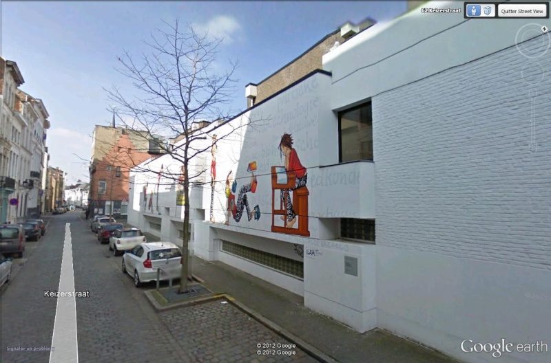 Les parcours BD de Bruxelles, Laeken et Anvers - Page 6 Cordel10