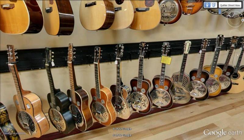 STREET VIEW DANS UN COMMERCE : pour les amoureux de la guitare Dire_s10