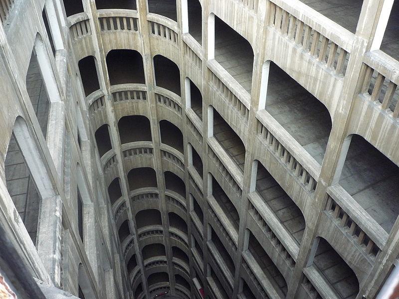 Le garage hélicoïdal de Grenoble, Isère Garage12