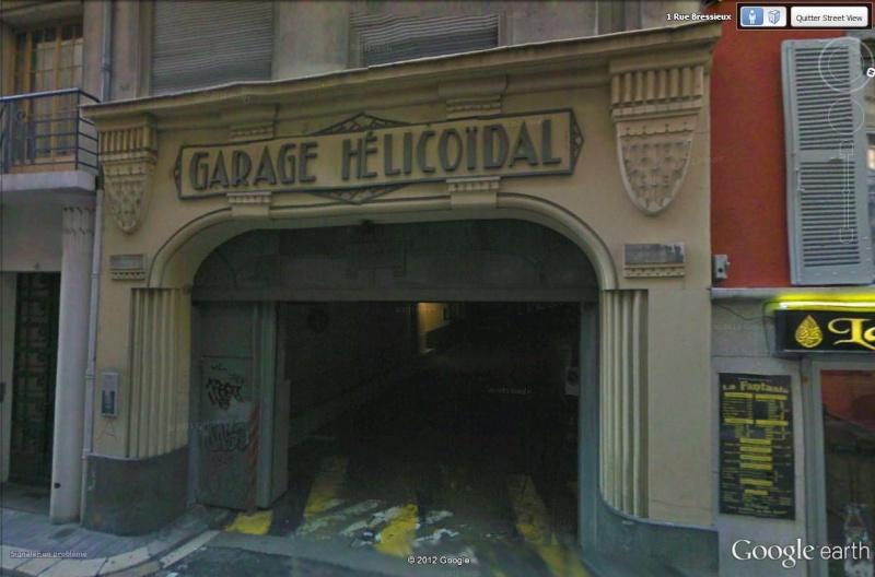 Le garage hélicoïdal de Grenoble, Isère Garage13