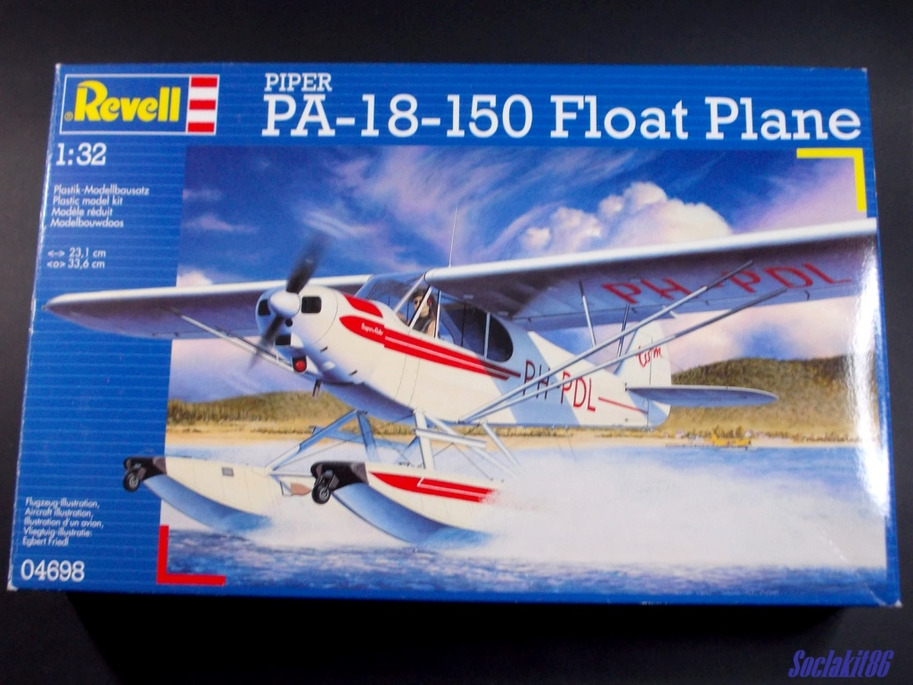 "Piper PA-18-150 "" Super Cub"" Float Plane (Revell 1/32) 000011"