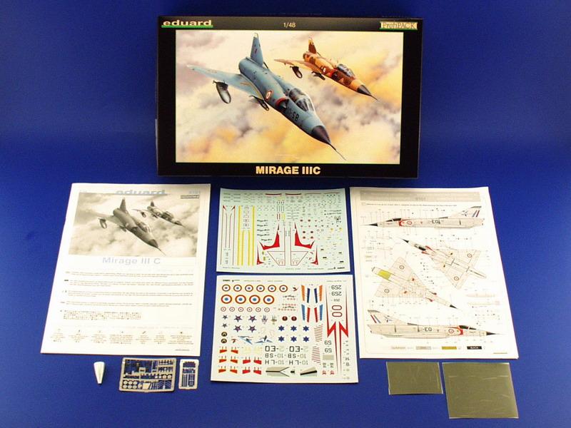 Mirage III C ( Eduard Profipack  8101) 0013