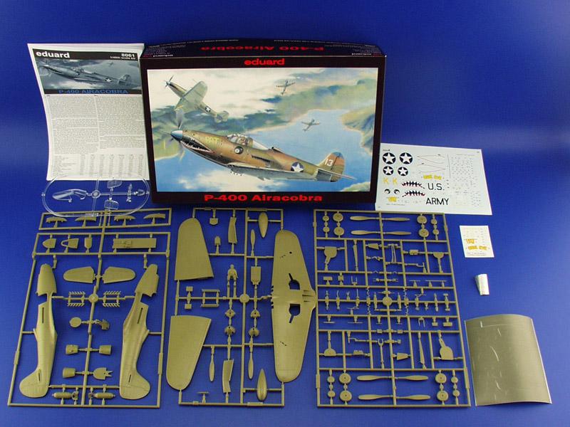 Bell P-400 Airacobra au 1/48 ( Eduard 8061 ) --> P-39 N  0020