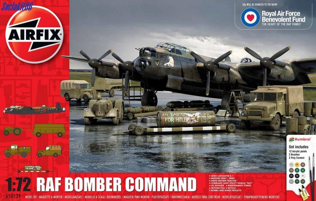 "Avro Lancaster B mark 1 ""RF128 - QB°V - Victorious Virgin "" ( Airfix 1/72 ) 0024"