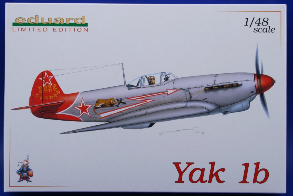 Yakovlev Yak-1 b  (Eduard L.E. réf 1126 au 1/48) de V.P. Pokrovskiy  0029