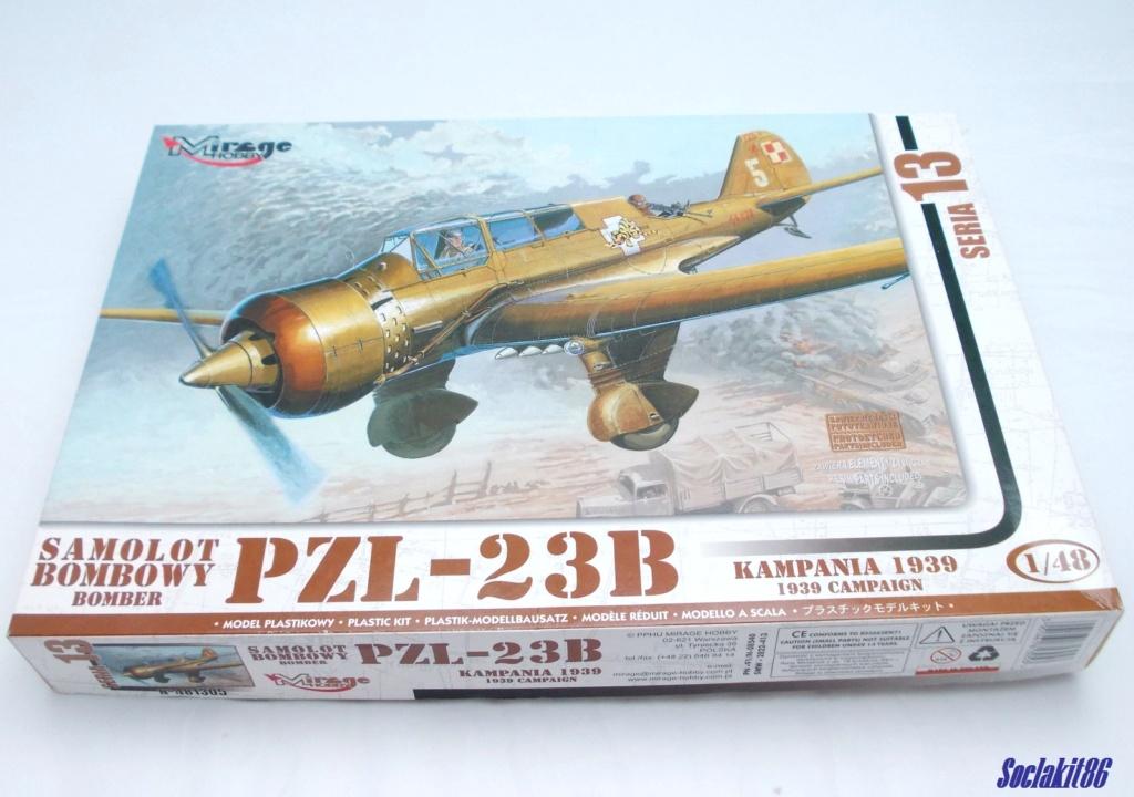 "Fil rouge 2020 , PZL P-23B Karas ""1939 Campaign"" (Mirage Hobby 1/48) 0034"