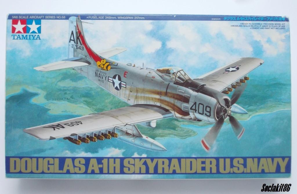 AD-4 Skyraider n°123895 /SFERMA 110 de l'EC 3/20  (Tamiya 1/48) 0036