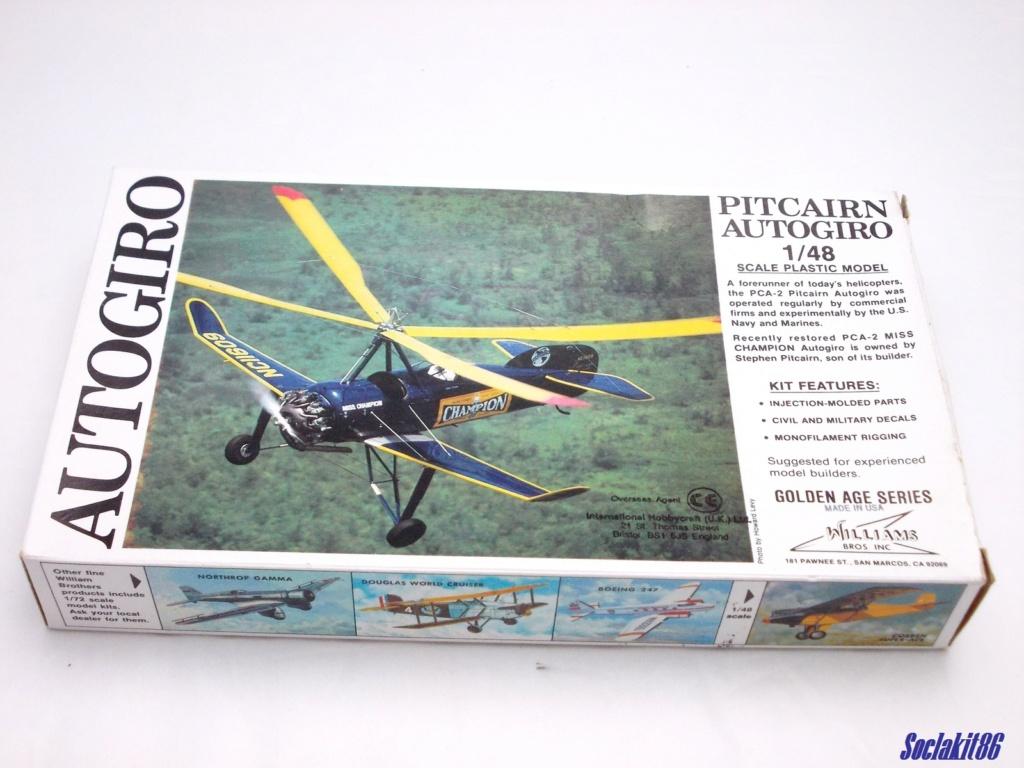 "Autogire Pitcairn XOP-1 ""US Navy"" (Williams Bros Inc - 1/48  réf 48-161 )  0040"