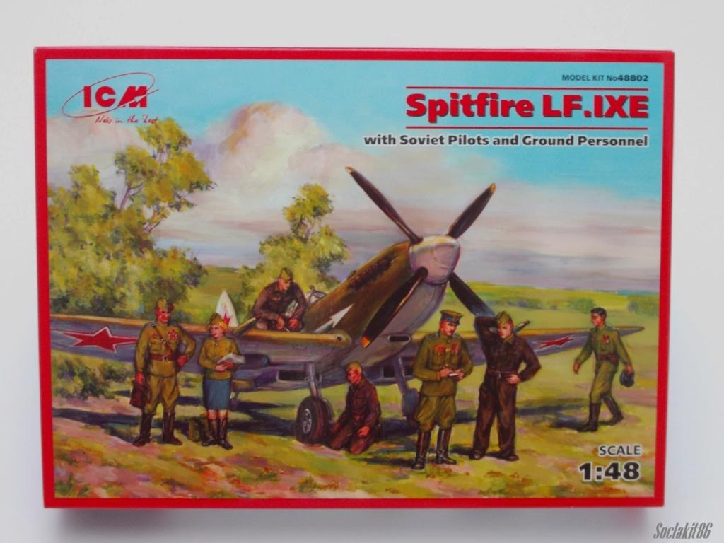 Spitfire LF-IXe with Soviet Pilot & Ground Crew 1/48 ( ICM 48803 ) 0046