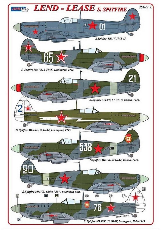 Spitfire LF-IXe with Soviet Pilot & Ground Crew 1/48 ( ICM 48803 ) 0048
