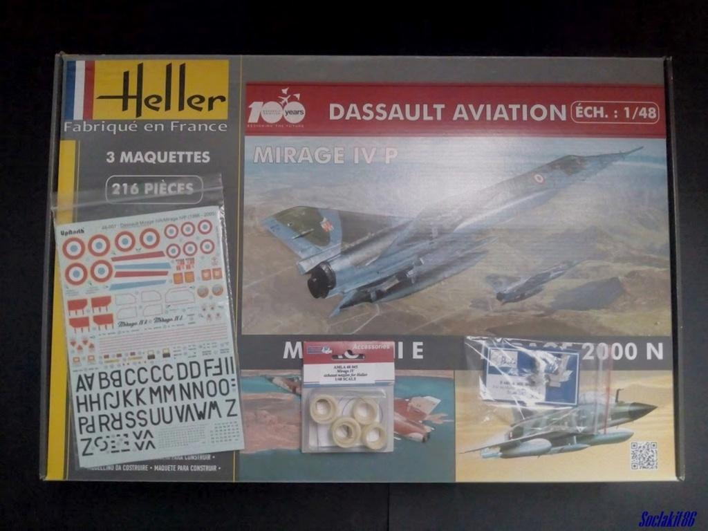 """Fil Rouge 2021 * Mirage IV A n°31/BD """"Opération Tobus """" (Heller 1/48)  0066"""