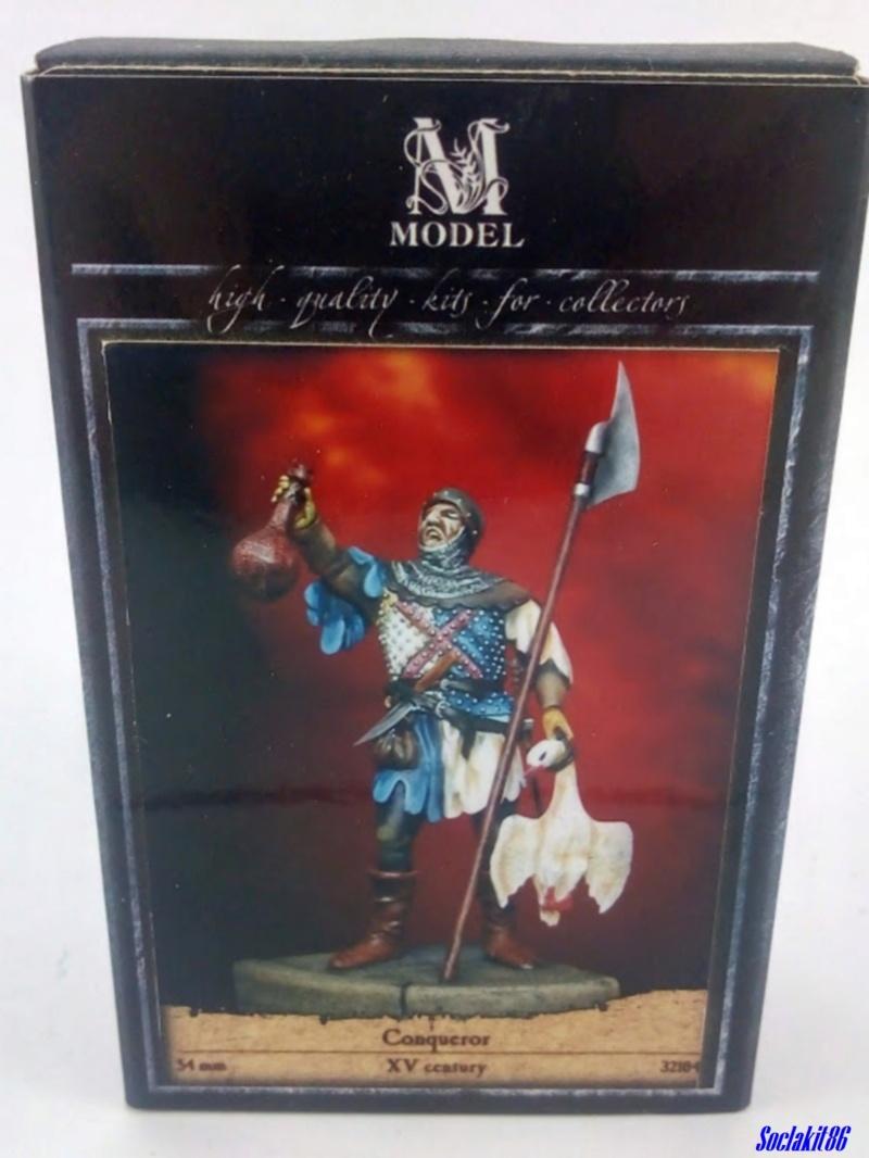 "Figurine ""Conqueror - XV ème century""  (M Model 54 mm réf 3204) ... 0075"
