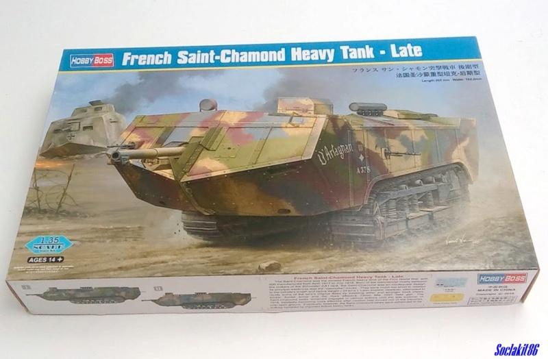 St Chamond M3 (Hobby Boss 83860 - 1/35)  0076