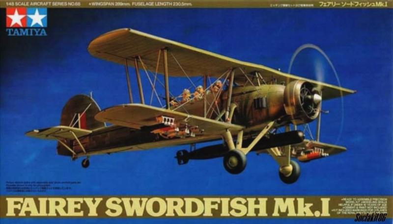 Fairey Swordfish Mark I (Tamiya 1/48) 823 Naval Air Squadron 1937 0079