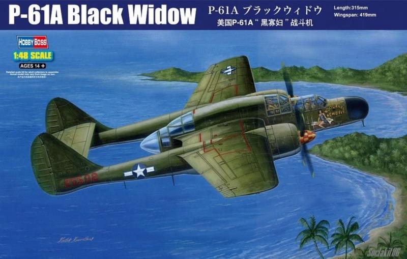 "Northrop P-61A s.n 425526 ""Mightie Mission"" du 6th NFS - Saipan - été 44 (hobby boss 1/48) 0085"