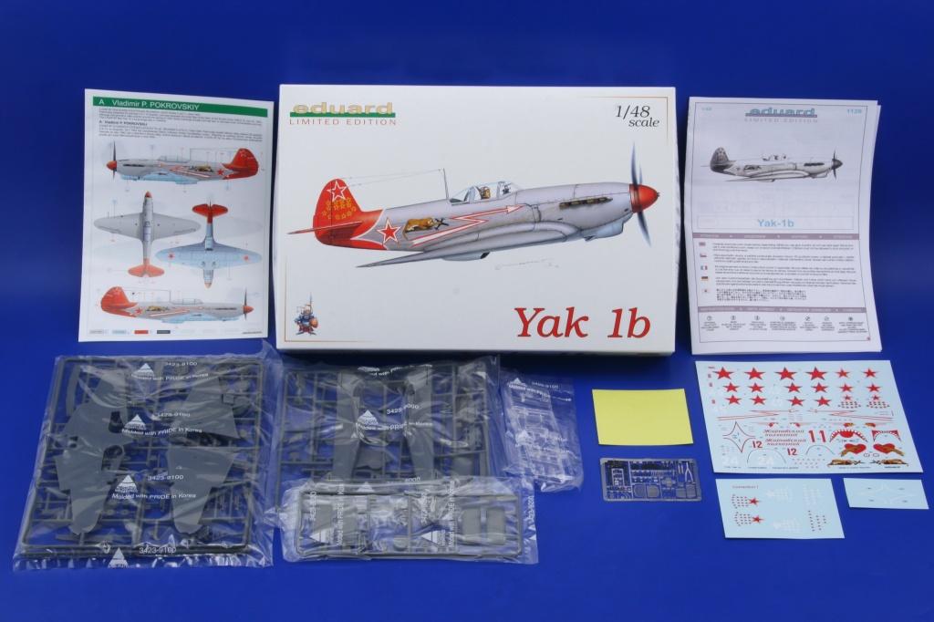 Yakovlev Yak-1 b  (Eduard L.E. réf 1126 au 1/48) de V.P. Pokrovskiy  0121