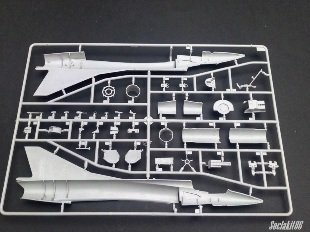 Mirage III C Rose EC 02-010 Seine (Hobby Boss 1/48)  0124
