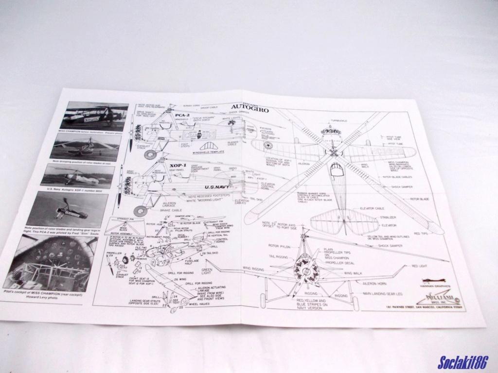 "Autogire Pitcairn XOP-1 ""US Navy"" (Williams Bros Inc - 1/48  réf 48-161 )  0130"