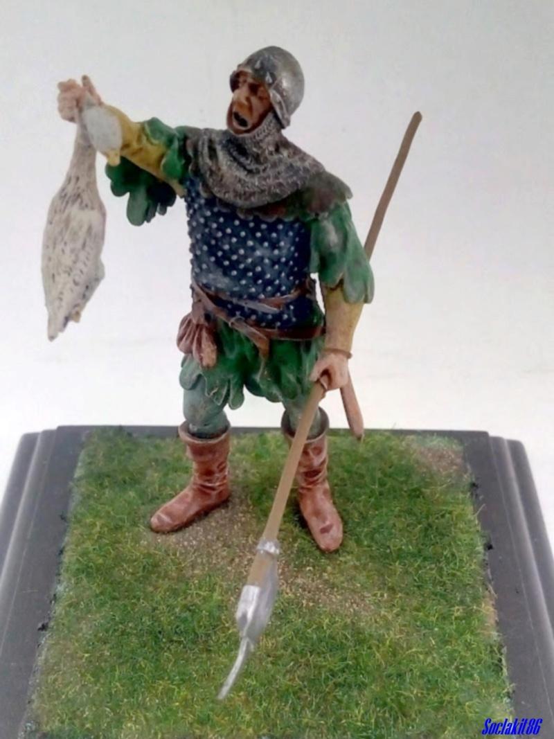 "Figurine ""Conqueror - XV ème century""  (M Model 54 mm réf 3204) ... 0143"
