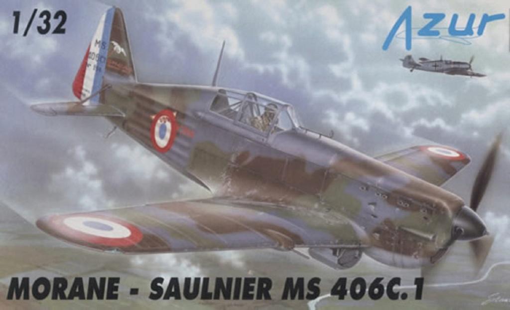 Morane Saulnier MS 406 (Azur /AB Toys 1/32) + décals Kagero Top Colors 17 0156