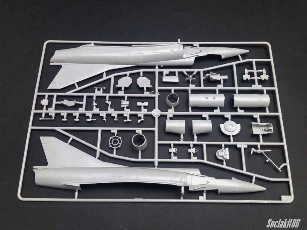 Mirage III C Rose EC 02-010 Seine (Hobby Boss 1/48)  0222