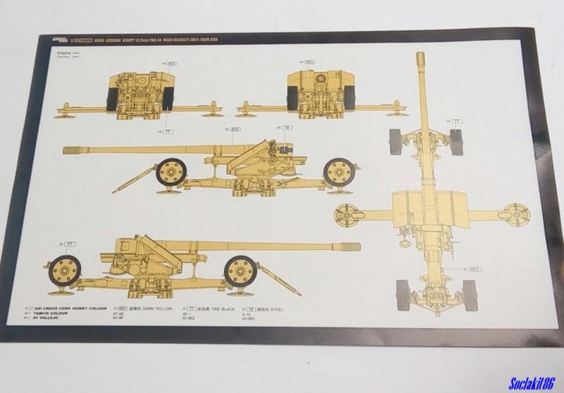 Krupp 12,8 cm PaK 44 (GWH réf L3526 - 1/35 ) 0243