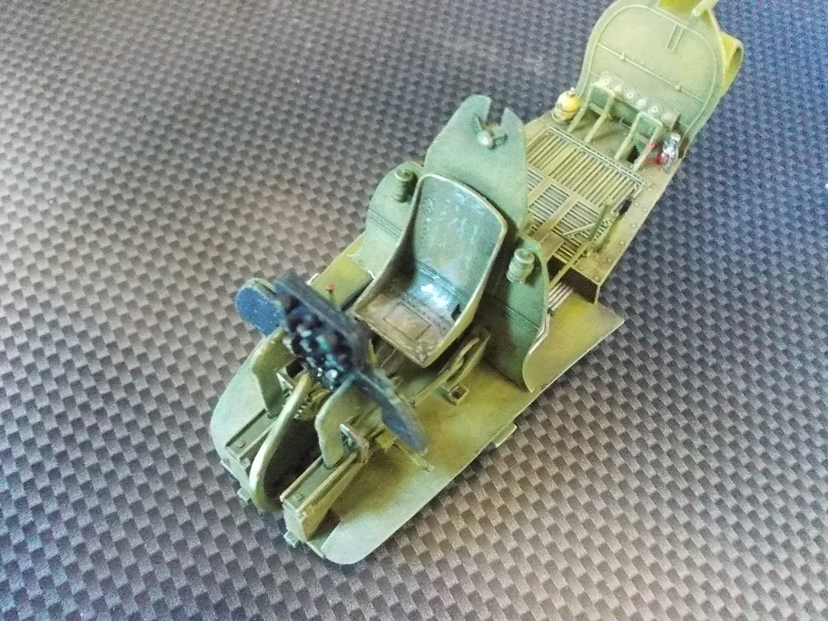 U.S. Multiple Gun Motor Carriage M16 1/35 Tamiya  FINI !!!!!!!! 0612